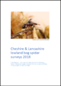 Cheshire & Lancashire lowland bog spider surveys 2018