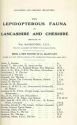The Lepidopterous Fauna of Lancashire and Cheshire