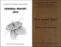 Lancashire and Cheshire Fauna Society Journals (Excl. non-invert publications) 1914 – 2004