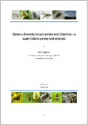 Diptera diversity in Lancashire and Cheshire – a quantitative survey and analysis